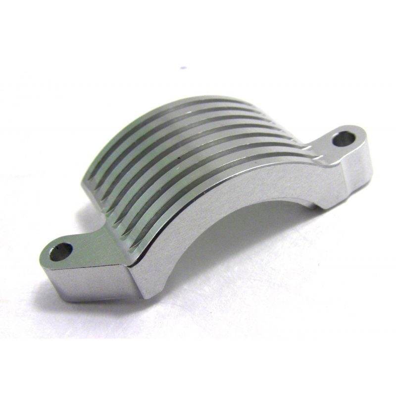 Hot Racing Aluminum Long Motor Plate Clamp [AES18CL08]