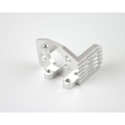 Silver Alum. Heat Sink Motor Mount