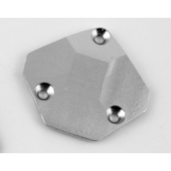 Hot Racing Silver Aluminum Lower Gear Cover 18t [AET3208]