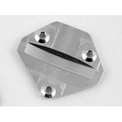 Silver Aluminum Lower Gear Cover 18t