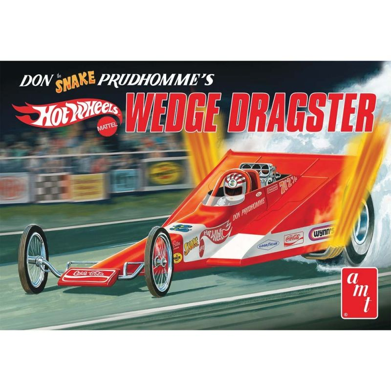 AMT Models 1/25 Coca Cola Don Snake Prudhomme Wedge Drg [AMT1049]