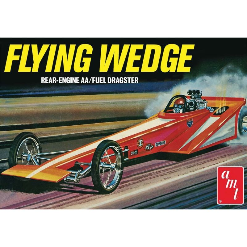 1/25 Flying Wedge Dragster Original Art Series