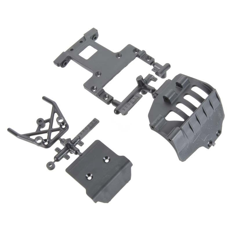 Bumper Rear Chassis Plate Set Front