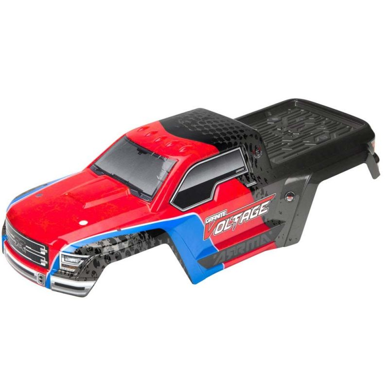 Body Painted Decaled Granite Red/Black Voltage