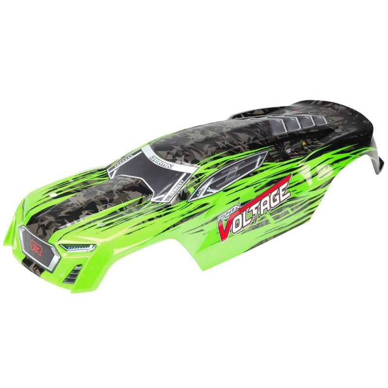 Arrma Body Painted Decaled Fazon Green/Black Voltage [AR402197]