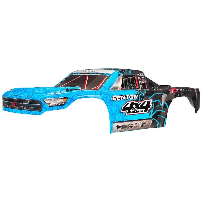Body Painted Decal Trim Blue Senton 4x4 Mega