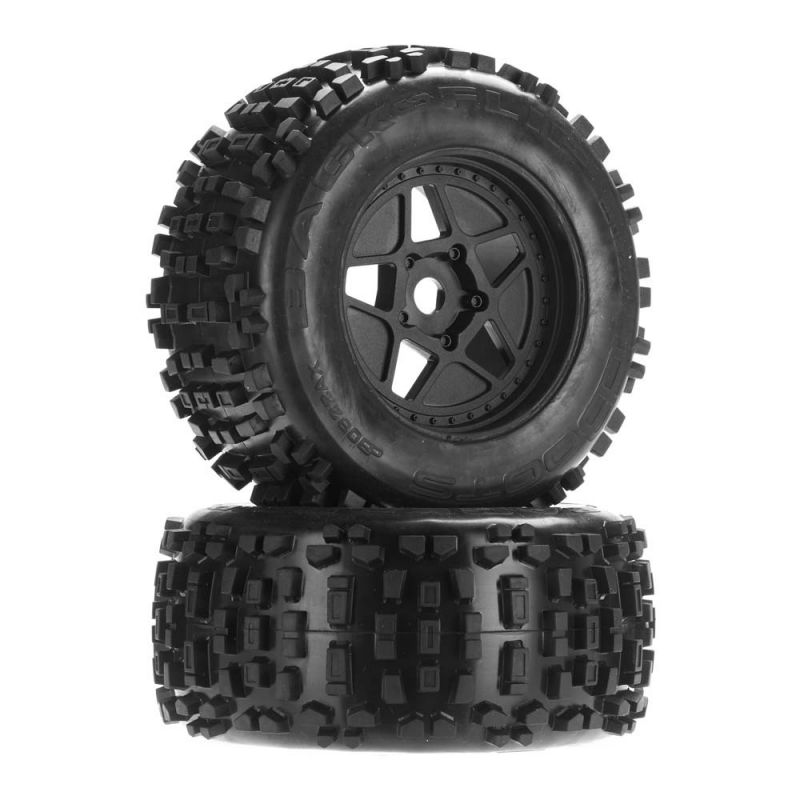 Arrma Dboots Backflip Mt 6s Tire Wheel Set [AR510092]