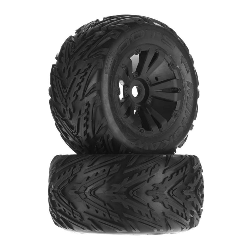 Minokawa MT 6S Tire Wheel Glued Black (2)