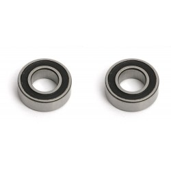 3/16x3/8x1/8in Rubber Sealed Bearings (2)