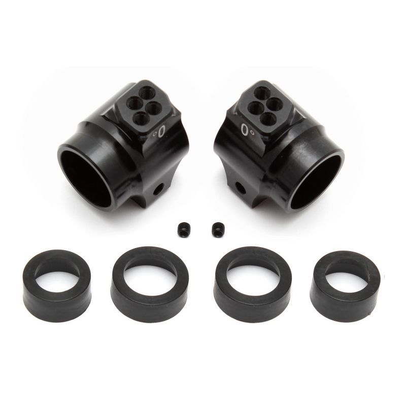 Aluminum Rear Hubs Black