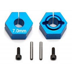 Associated Clamping Wheel Hex (7.0mm Offset) [91610]