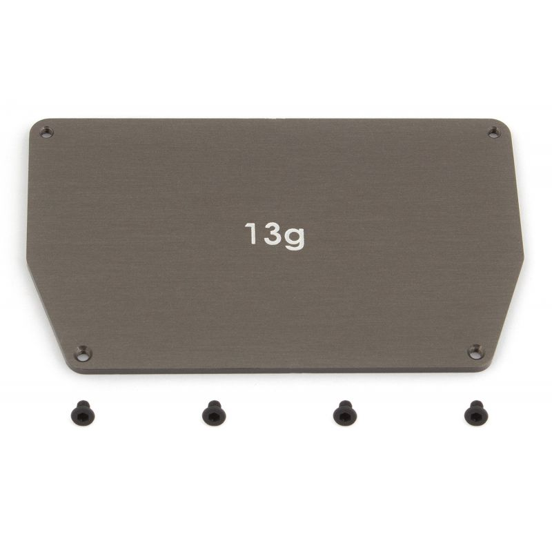 Associated Aluminum Chassis Weight 13g B6 [91746]