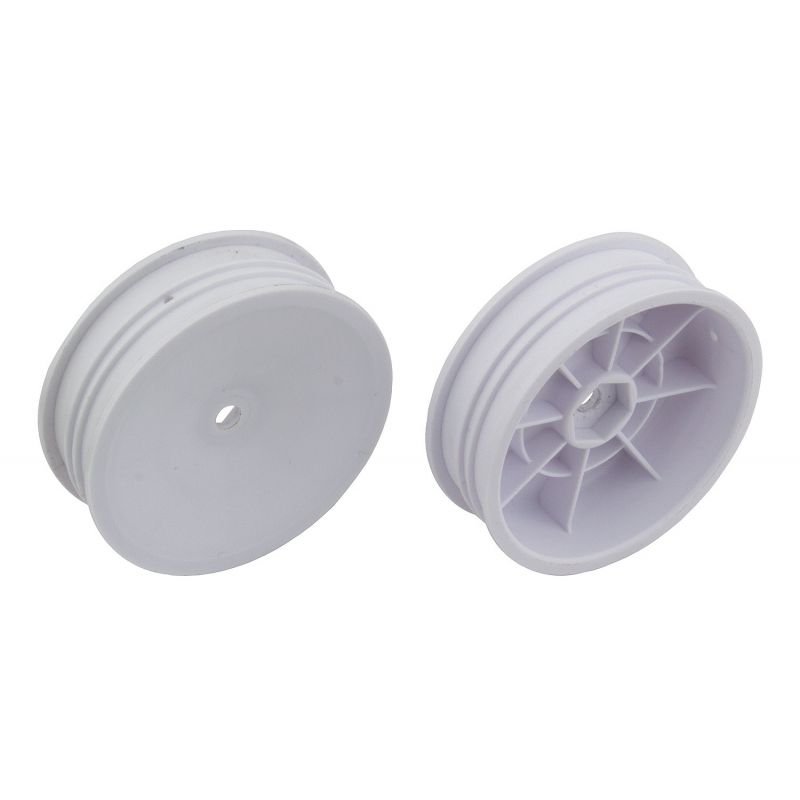 Associated 2WD Slim Front Wheels 2.2 12mm hex white [91757]