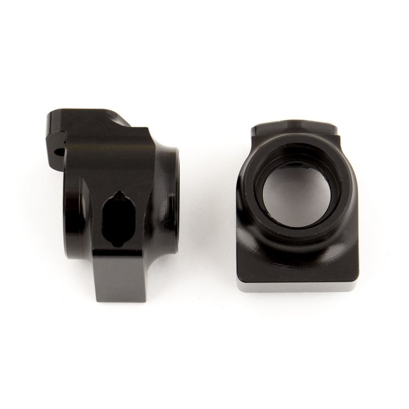 Associated B64 FT Aluminum Rear Hubs black [92099]