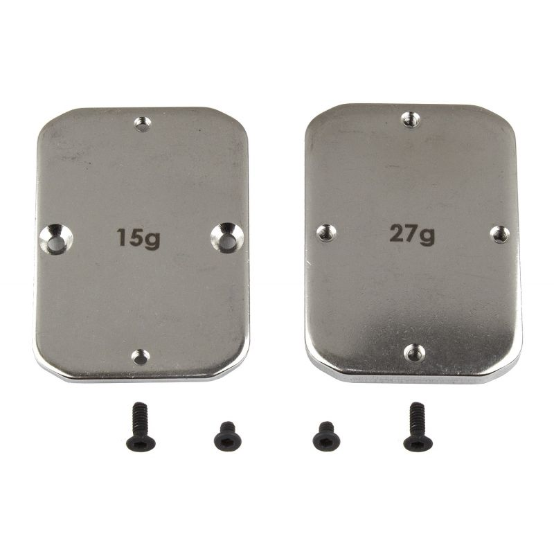 B64 FT Steel Chassis Weights 15g 27g