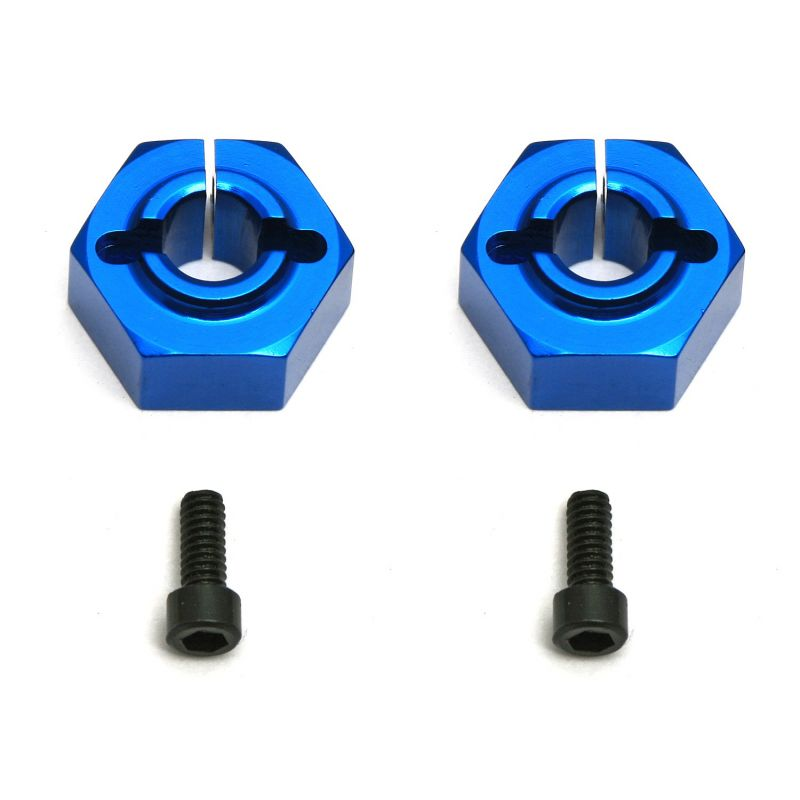 Associated Aluminum Clamping Wheel Hex 12mm Rear Buggy (2) [9890]