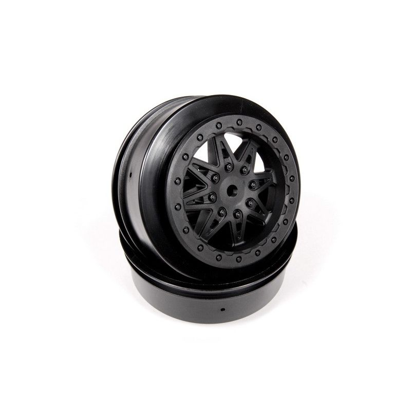 Axial 2.2 3.0 Raceline Renegade Wheels - 34mm (Black) (2pcs) [AX08104]