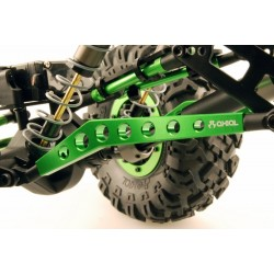 Machined hi-clearance Links - Green (2pcs)