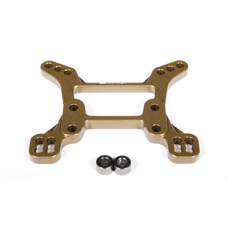 Axial EXO Machined Aluminum Front Shock Tower (Hard Anodized) [AX30825]