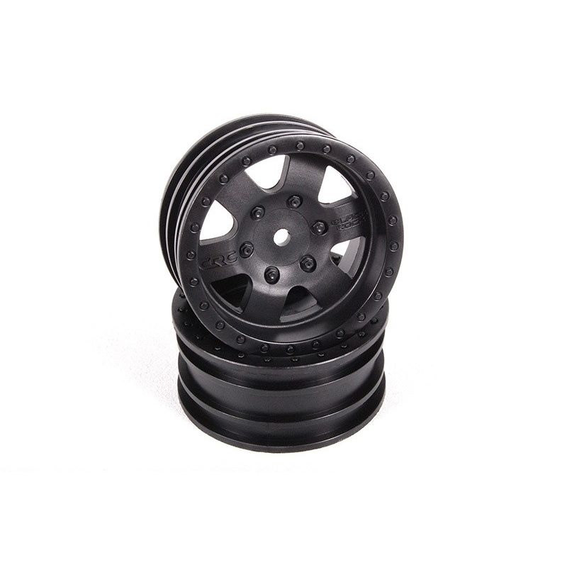 Axial 1.9 Black Rock CRC Wheels - Black (2pcs) [AX31094]