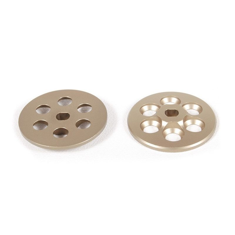 Machined Slipper Plate (Hard Anodized) (2pcs)