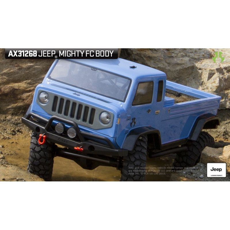 Axial Axial Jeep Mighty FC Body .04 inch Clear [AX31268]