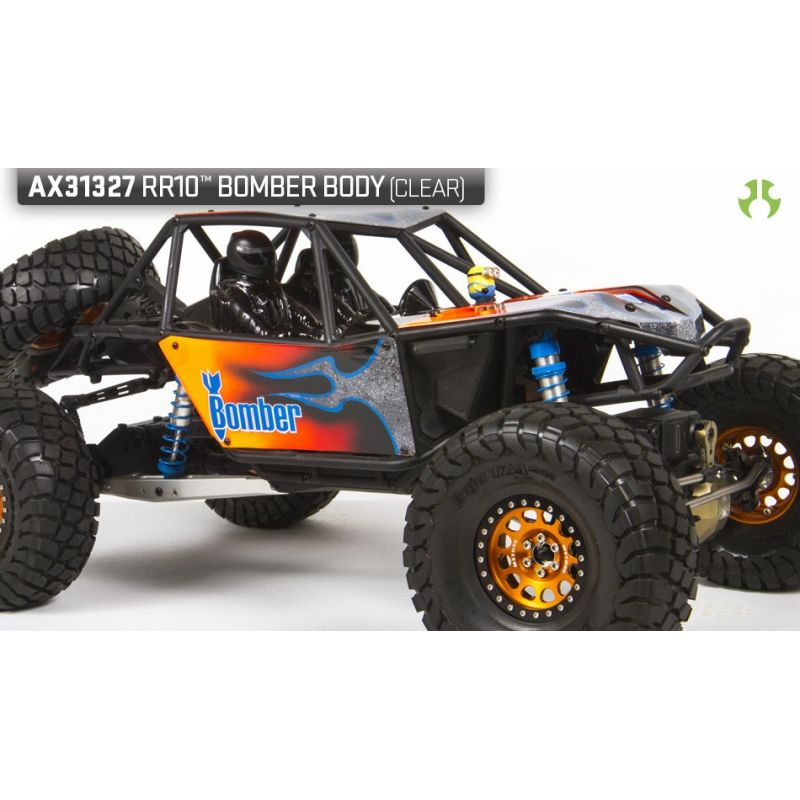 Axial RR10 Bomber Body - .040inch (Clear) [AX31327]