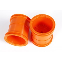 Axial 2.2 Monster Truck Wheels 63mm Orange (2)
