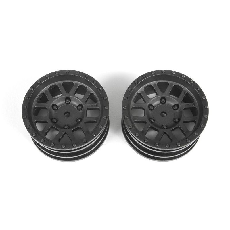 Axial 1.9 inch Method Mesh Wheels Black (2)