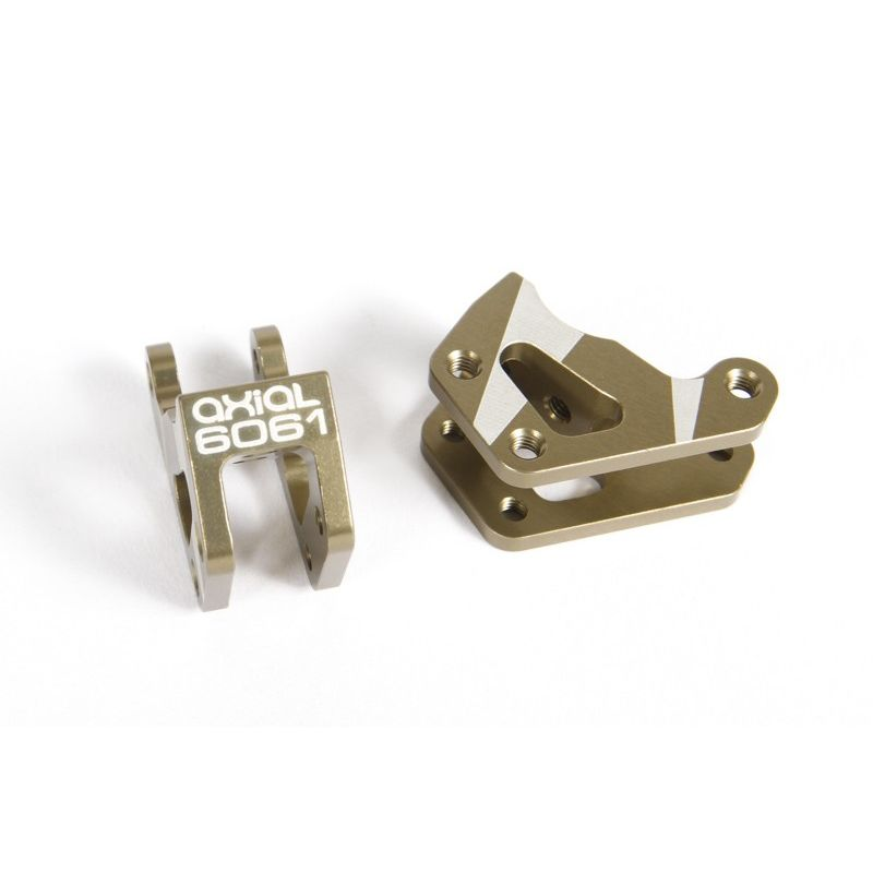 Axial AR60 Machined Link Mounts (Hard Anodized) (2 pieces) [AX31433]