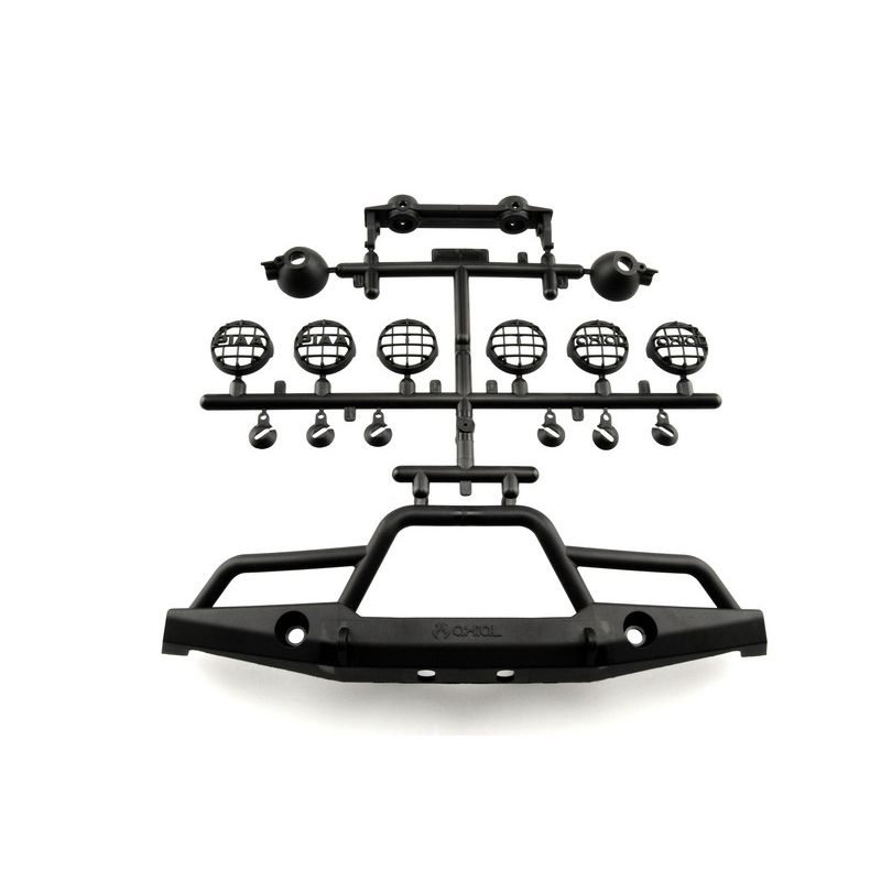 Axial 1/10th Scale Front Plate Bumper Set [AX80039A]
