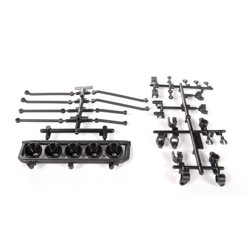 Axial Universal Mount 5 Bucket Light Bar (Black) [AX80085]