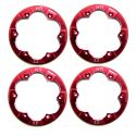 Red Aluminum Beadlock Ring (4)