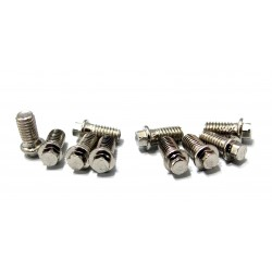Miniature Scale Hex Bolts 3 X 6 Millimeter