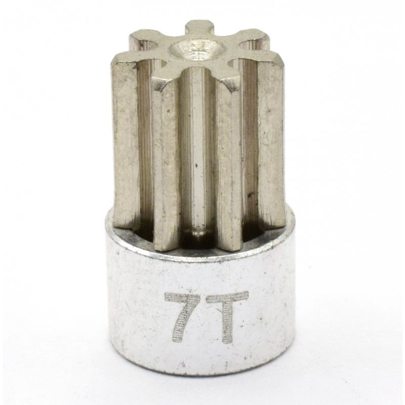 Hot Racing Silver 32 Pitch 7 Tooth Pinion Gear [CB207]