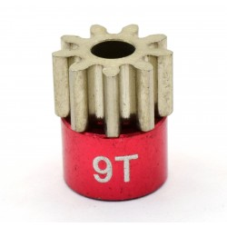 Red 32 Pitch 9 Tooth Pinion Gear