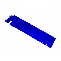 Blue Dual Pickup Rudder Blade