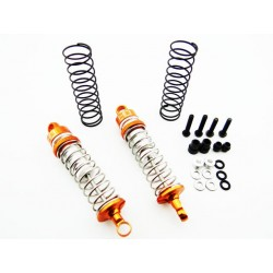 Aluminum 62mm Threaded Shocks (2) - Dromida 1/18