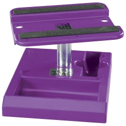 Pit Tech Deluxe Car Stand Purple