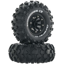 Showdown Cr C3 Mounted 2.2 Inch Crawler Black (2)