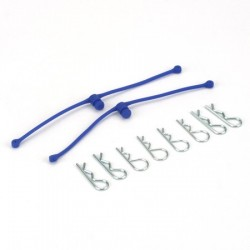 Body Klip Retainers Blue (2)