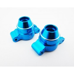 Blue Aluminum Rear Knuckles Hub 1/18 4wd