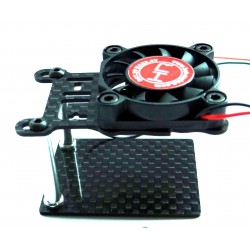 ESC Cooling Fan w/ Adjustable Carbon Fiber Base