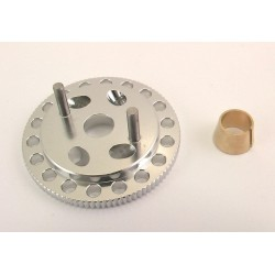 Silver Light Weight Vented Flywheel