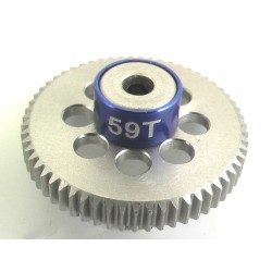 59T 64P Aluminum Pinion Gear 1/8 Bore