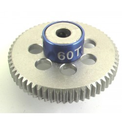 60T 64P Aluminum Pinion Gear 1/8 Bore