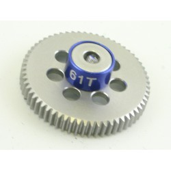 61T 64P Aluminum Pinion Gear 1/8 Bore