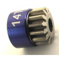 14T 48P Aluminum Pinion Gear 1/8 Bore