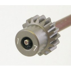 17T 48P Aluminum Pinion Gear 1/8 Bore