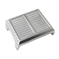 Aluminum Replica radiator Cover Silver